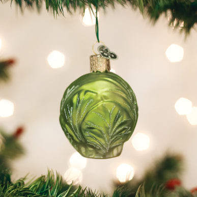 Brussel Sprout Ornament