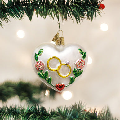 Wedding Heart Ornament