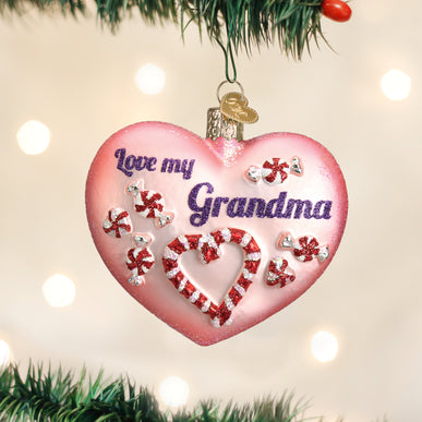 Grandma Heart Ornament