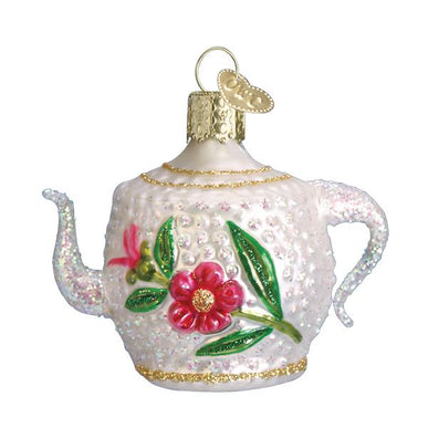 Fancy Teapot Ornament