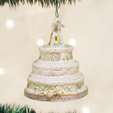 Wedding Cake Ornament