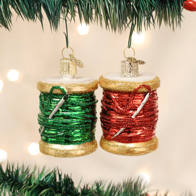 Spool Of Thread (a) Ornament