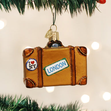 Suitcase Ornament