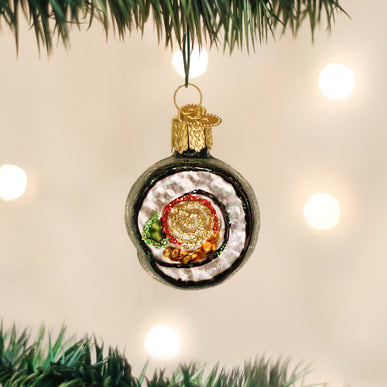 Sushi Roll Ornament