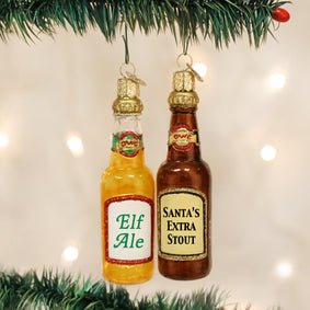 Beer Bottle (a) Ornament