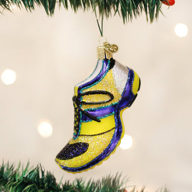 Running Shoe Ornament