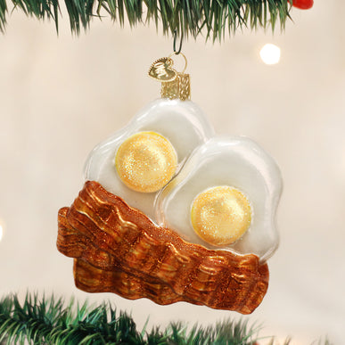 Bacon And Eggs Ornament