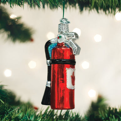 Fire Extinguisher Ornament