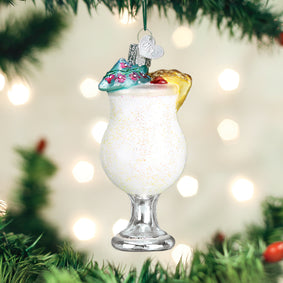 Pina Colada Ornament