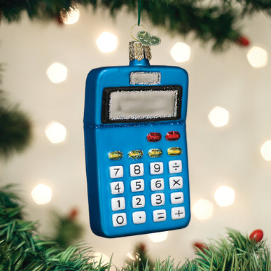 Calculator Ornament