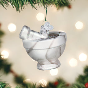 Mortar & Pestle Ornament