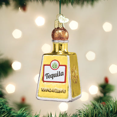 Tequila Bottle Ornament