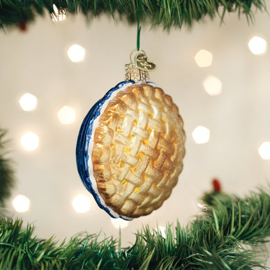 Apple Pie Ornament