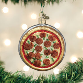 Pizza Pie Ornament