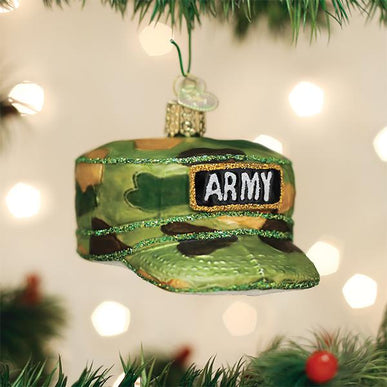 Army Cap Ornament