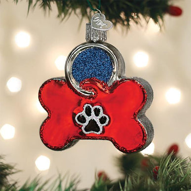 Dog Tag Ornament