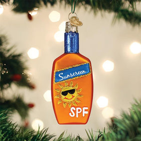 Sunscreen Ornament