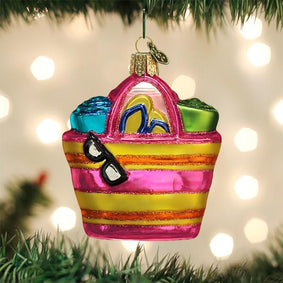 Beach Bag Ornament