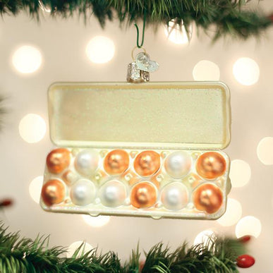 Egg Carton Ornament