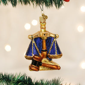 Scales Of Justice Ornament