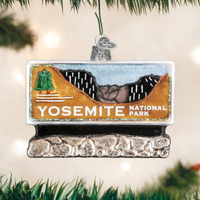 Yosemite National Park Ornament