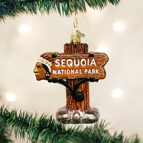 Sequoia National Park Ornament