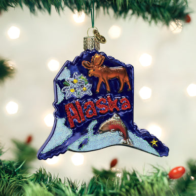 State Of Alaska Ornament
