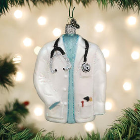 Doctor's Coat Ornament