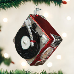 Record Player Ornament