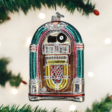 Jivin' Jukebox Ornament
