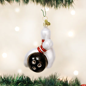 Bowling Ball & Pins Ornament