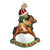 Rocking Horse Teddy Ornament