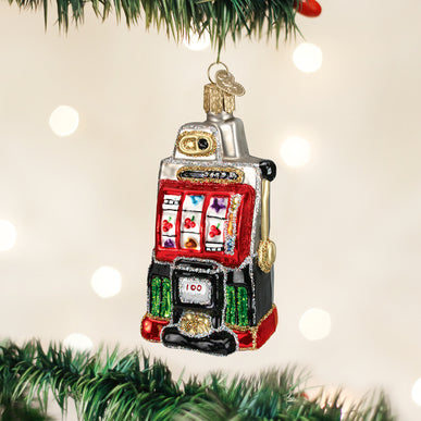 Slot Machine Ornament