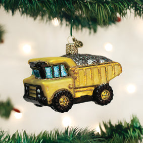 Toy Dump Truck Ornament