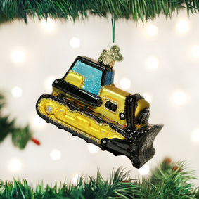 Toy Bulldozer Ornament