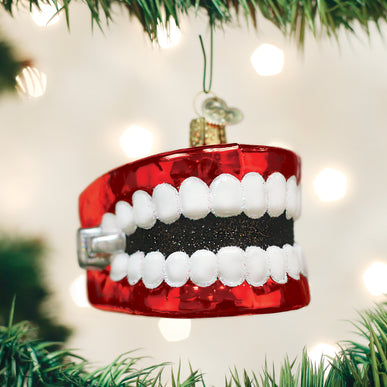 Wind Up Teeth Ornament