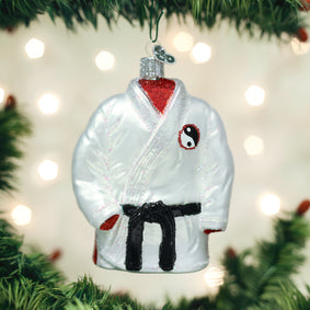 Martial Arts Robe Ornament