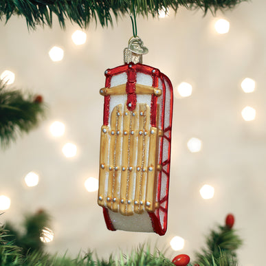 Sled Ornament