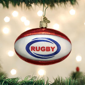 Rugby Ball Ornament