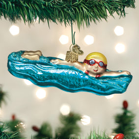 Swimming Ornament