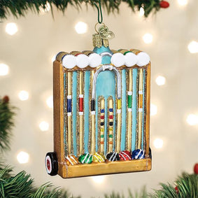 Croquet Set Ornament