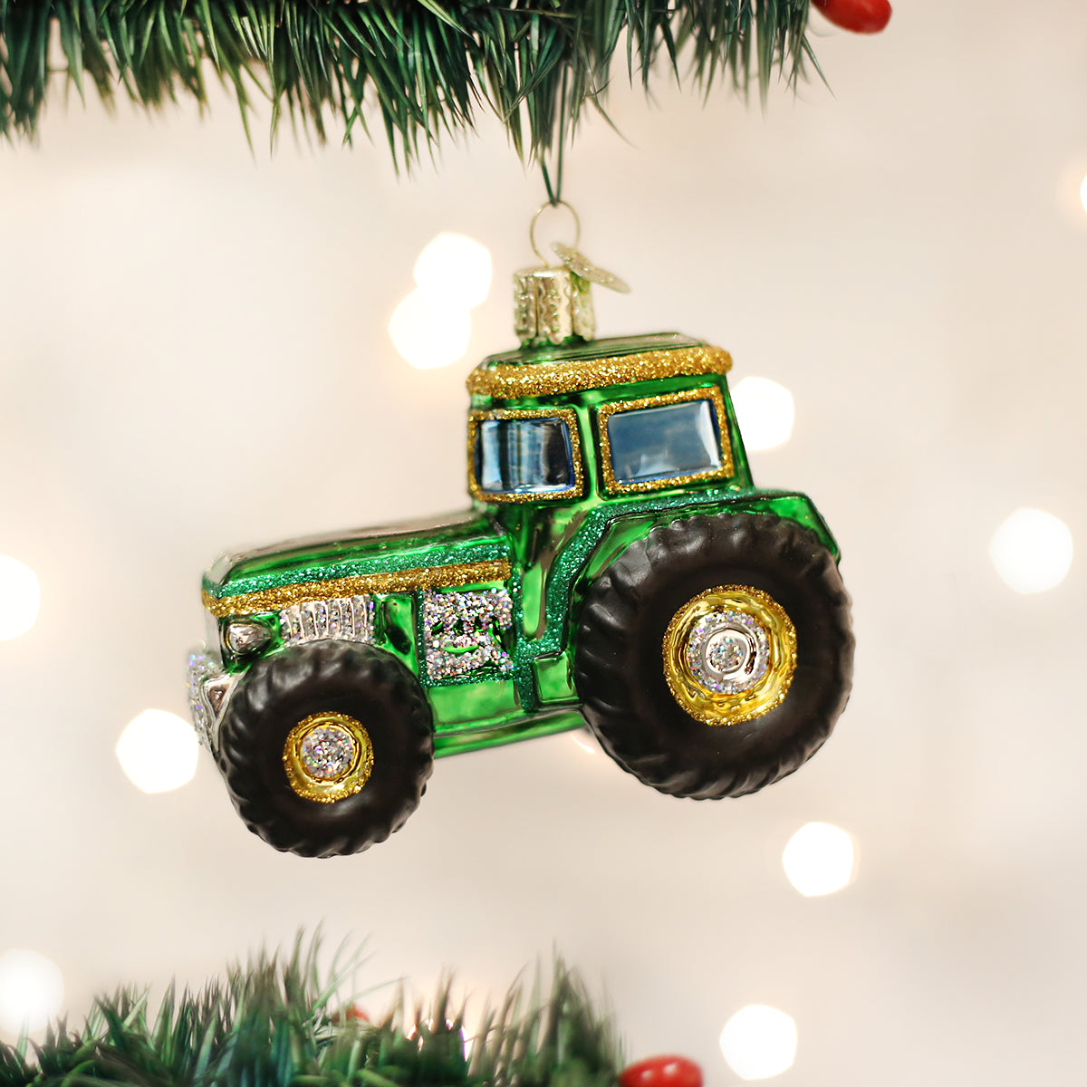 Tractor Ornament Old World Christmas