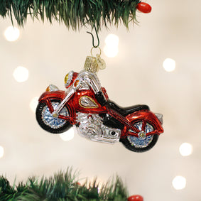 Motorcycle Ornament