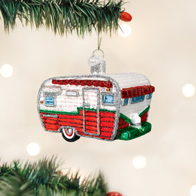 Travel Trailer Ornament