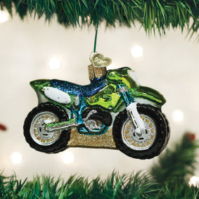 Motocross Bike Ornament