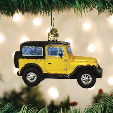 Sport Utility Vehicle Ornament