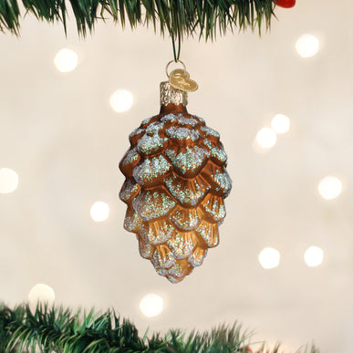 Woodland Cone Ornament
