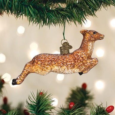 Vintage Deer Ornament