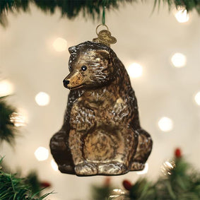 Vintage Bear Ornament