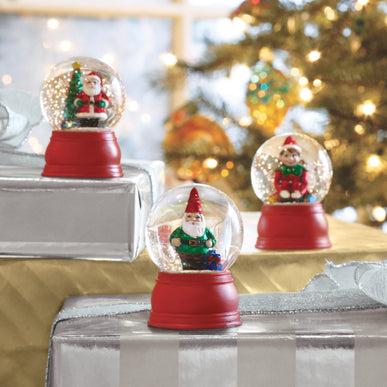 Assorted Mini Snow Globes